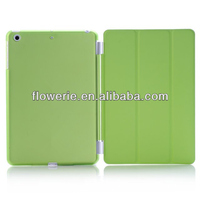 FL3323 2014 new products stand smart flip cover case with sleep wake for ipad mini 2
