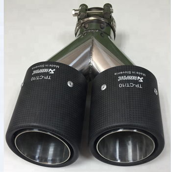 carbon fiber exhaust tip