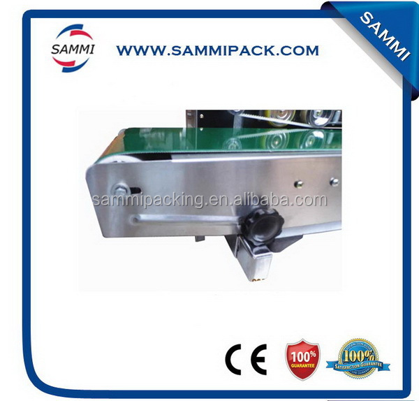 high quality Continuous plastic bag sealing machine