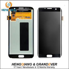 Alibaba Top 5.8'' LCD and Digitizer assembly for samsung Galaxy S7 edge G935 LCD panel replacement