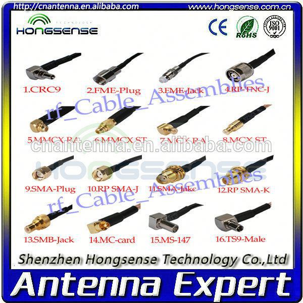 [Professional] Hotsell crc9 antenna extension cable With Free Samples Offered