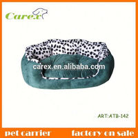 Lovely plush memory pet bed for dog