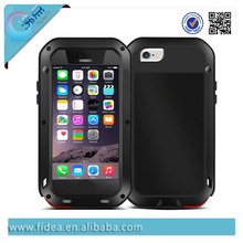 Perfect fashionable Love Mei Aluminum Bumper Case For iphone 6 Waterproof Case