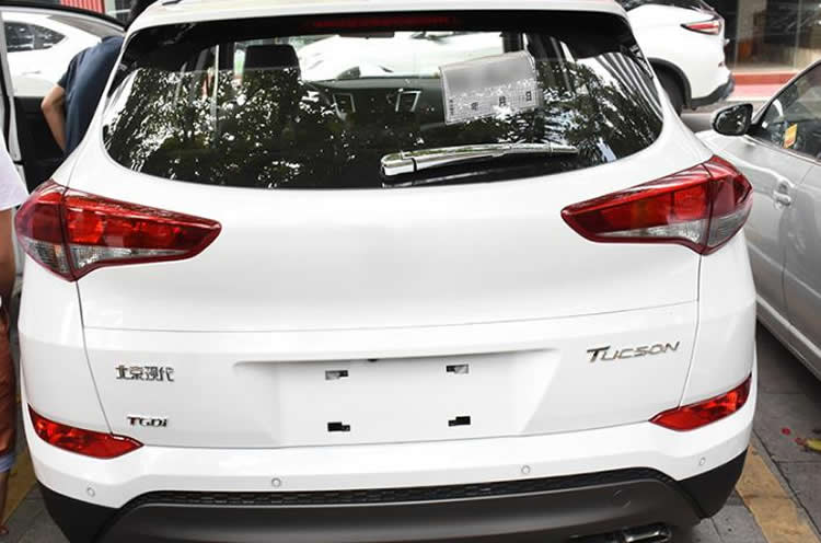 car accessories ABS Chrome Car Rear Window wiper cover Trim for hyundai 2015 tucson parts