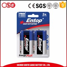 Hot Selling High Quality D 3200Mah Battery 1.5V