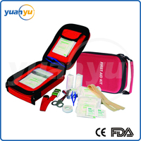 OEM Manufacturer EVA first aid kit mergency survival medical kit with essential first aid item for car home outdoor activity