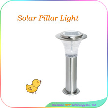 High quality outdoor solar pillar light