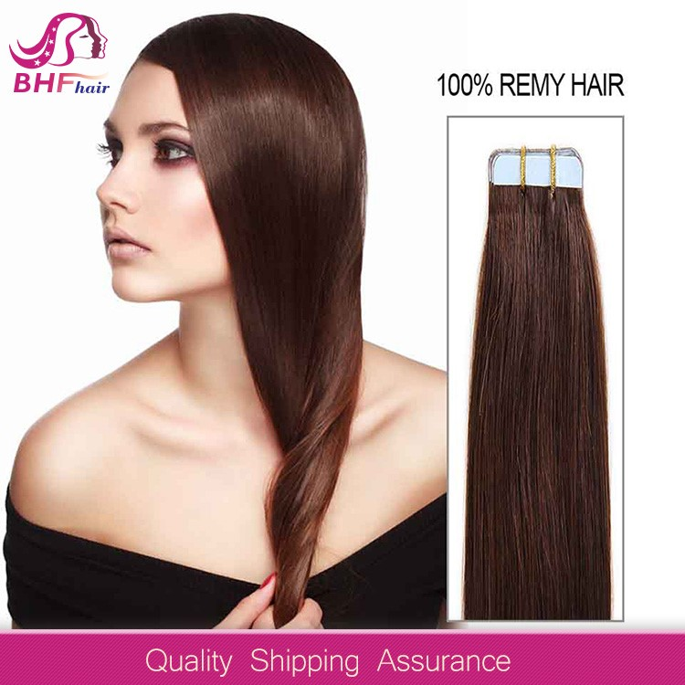 Hot Beauty single sided tape hair extensions