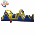 high quality kids outdoor inflatable obstacle course equipment