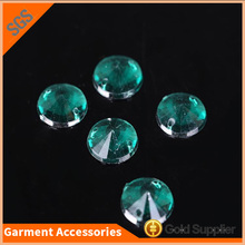 High Quality Satellite Round Loose Sew on Acrylic Rhinestone for Dresses Decoration
