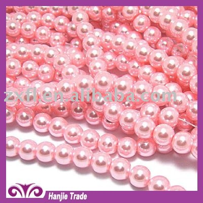 glass pearl beads for new design