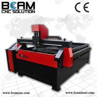 High definition cnc plasma laser cutting machine with the economic configuration BCP1325