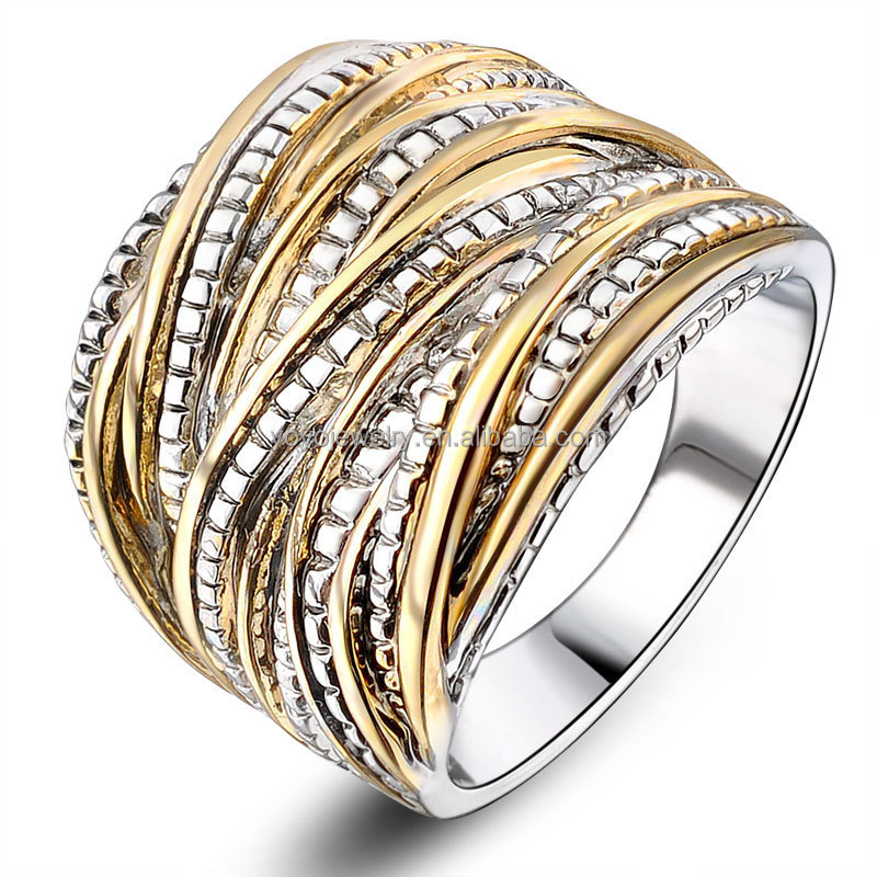 cheap wholesale cubic zirconia mens gold thumb rings