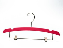 Eisho-betterall Premium Quality Plastic Suit Pants Hanger Colorful With Clips And Bar