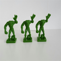 Custom plastic chess board game figures, game board maker, plastic board game pieces