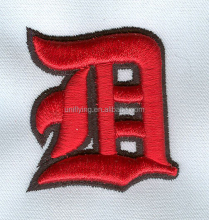Manufacturer Cheap New Personalized Customized Silk Thread Screen Embroidery Patches Greek Letter Iron On Patch
