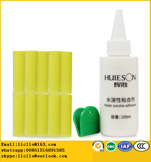 Inorganic water soluble adhesive water solubility bond for table tennis bats /ping pong rackets