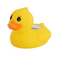 Cute duck multifunction baby infant bath thermometer 3 colors backlight LCD plastic cartoon toy