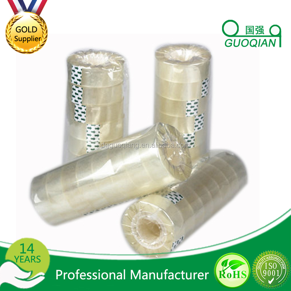 High quality and free sample colored/Transparent customer printed opp packing tape