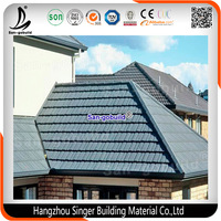 SONCAP Aluminium Zinc Roofing Sheets/ Cheap Stone Coated Metal Roof Tile