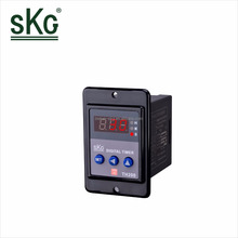 TH200 Mini Industrial Electric LED digital Display Rubber buttons Countdown hour meter Timer Relay s/m/h 12v 24v