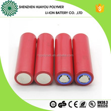 10A Discharging Rate Cylinder 3.7V 18650 Rechargable Lithium ion Battery 3500mAh