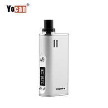 New Design Portable 2017 Yocan newest personal dry herb vaporizer 2 in 1 with ceramic atomizer kit baking vapor for wax&dry herb