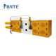 Plate continuous screen changer filter for foam plate extrusion machine