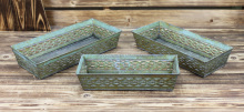 galvanized rectangular antique metal water troughs for sale