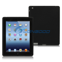 2015 New Flexible Gift Black Silicone Case Soft TPU Case For iPad