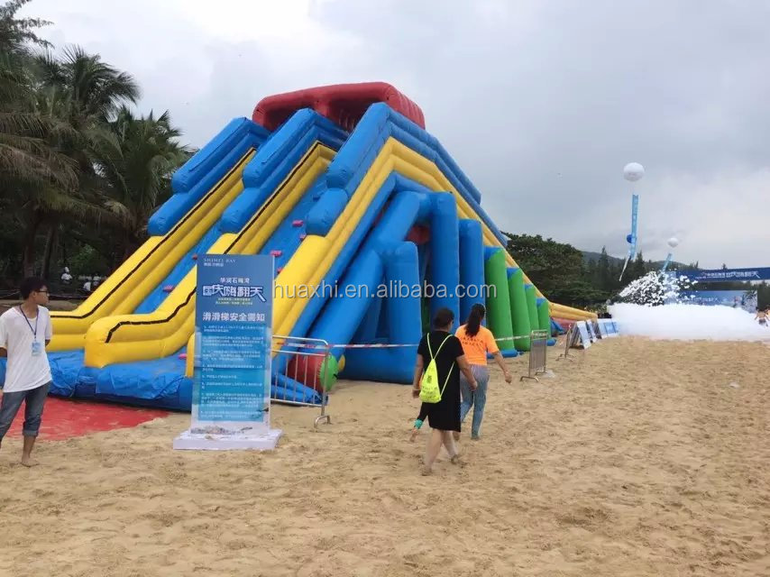 Best price funny commercial inflatable water park giant inflatable water slide for adult