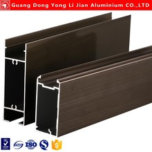 High grade aluminum shower door parts commercial window frames from Alibaba