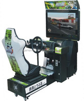 32LCD Initial D Arcade stage 3 - train real car driving simulator