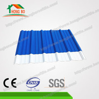 Wholesale Lightweight, easy installation spanish pvc roofing tile