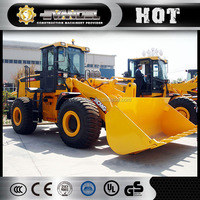 XCMG Heavy construction equipment LW500K 5 ton wheel loader price cheap for sale