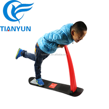 2017 Winter Toys Kids Plastic Snow Ski Scooter Sled with Metal Screw