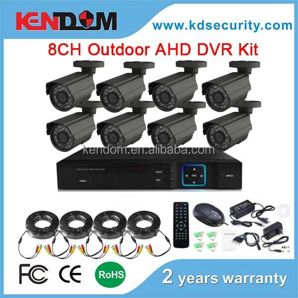 Kendom Hot Model: KD-AK8012MB 720P/960P AHD Camera 1.0MP/1.3MP AHD Camera IP66 Waterproof full HD 1.3mp AHD CCTV Camera system