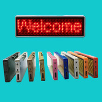 Bluetooth Cellphone APP Programmable LED Name Badge LED Message Badge LED Sign B1144