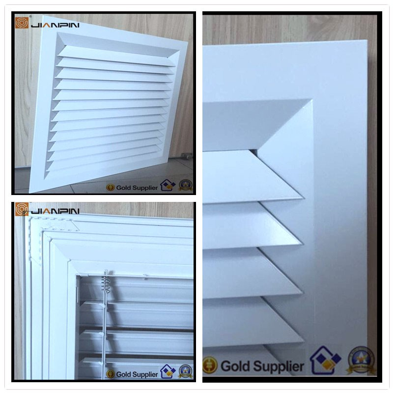 Return/Exhaust Air Indoor White Air Register Duct Grille Vent for Air Conditioner