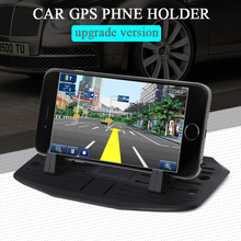 Upgrade Mobile Phone Holder New Silicone Pad Dash Mat Cell Phone Car Mount Holder