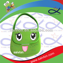 dual compartments lunch bag, silicone lunch bag, personalized paper lunch bags