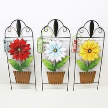 wholesale metal flower pot garden decor with high quality
