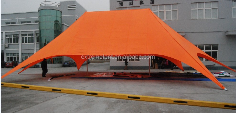 16M Outdoor Aluminum Twin star/star shade