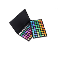High Quality Cosmetic Private Label 120 Colors Shimmer And Matte Color Mix Eye Shadow Palette