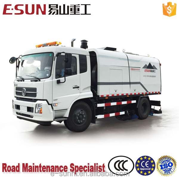 ESUN CLYQ-12000 pavement sweeper runway sweeper leaf sweeper