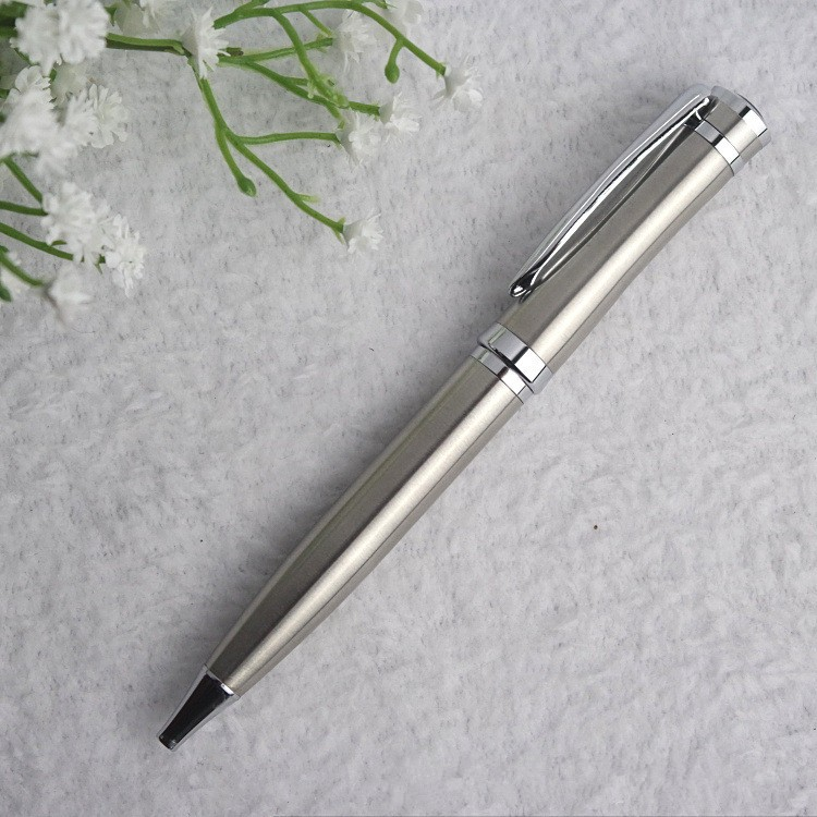 High quality stainless steel ball pen , Heavy Metal Promotional Pen