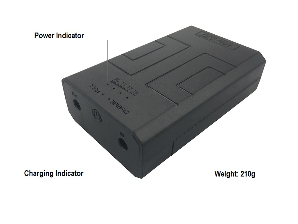 5V2A mini UPS DIY capacity battery charger for security/networking