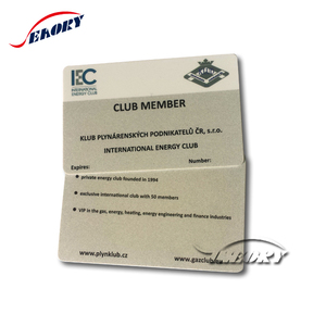 Factory manufacturer Gold hot stamping access control rfid card