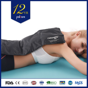 Large pain relief whole body large flexible gel reusable ice pack body wrap