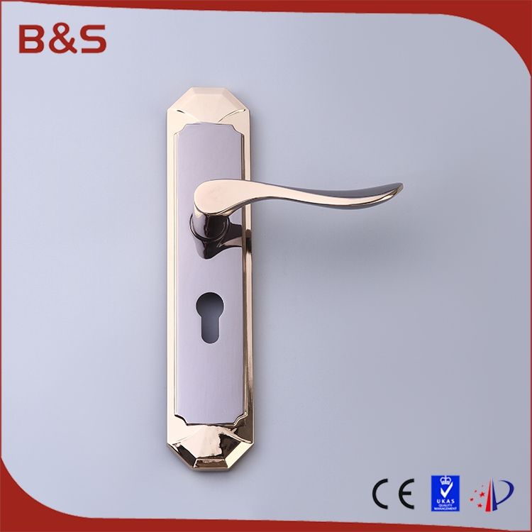 Door handle manufacturer hot sale safety apartment door lock cover plate with good quality